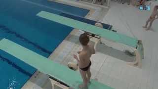 В Рузе прошли Всероссийские соревнования по прыжкам в воду