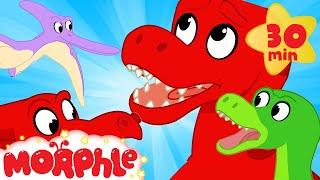 DINOSAUR ISLAND! My Magic Pet Morphle - Cartoons For Kids! Morphle! Dinosaurs For Kids