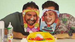 Bol Kremalı Pie Face Düello Oynadık