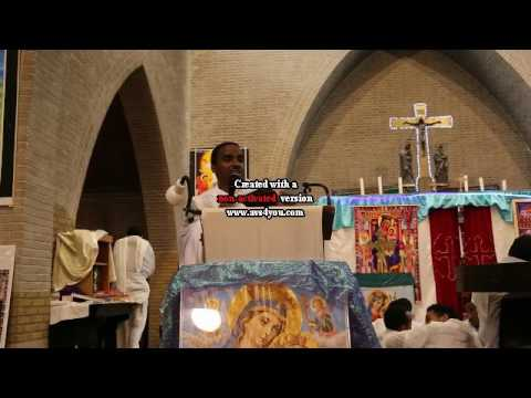 Eritrean Orthodox Tewahdo Bietekrstyan Debre  Genet Kidane Mhret Rotterdam Bhawnan memhrnan Megos