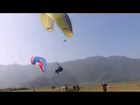 pokhara paragliding accident 2019 - YouTube