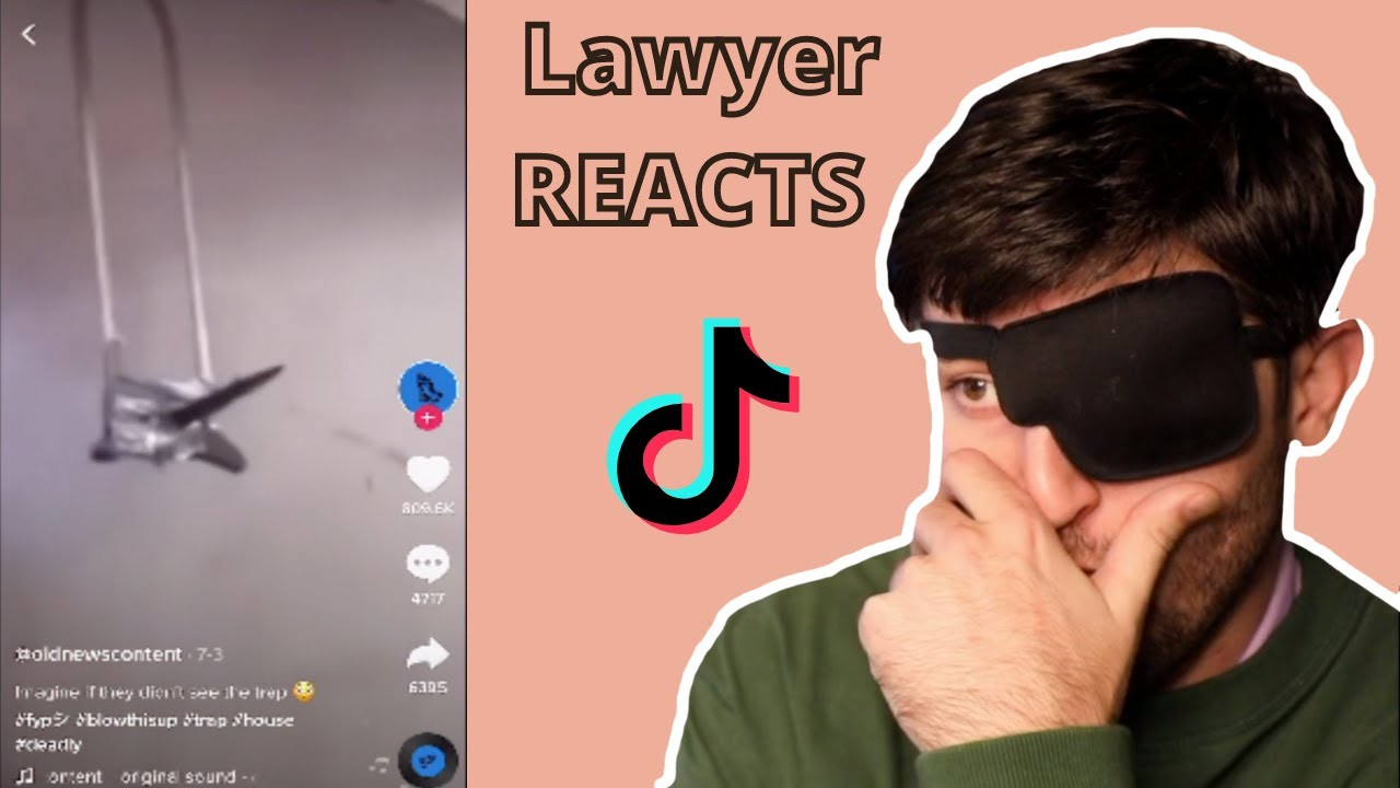 Crazy House Booby Trapped With Spikes?!  | Lawyer Reacts To Viral TikToks