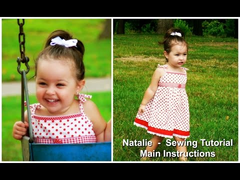 How to sew a Sun Dress (Natalie Pattern)