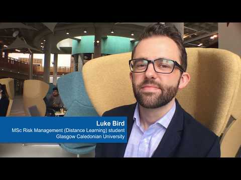 Luke Bird, MSc Risk Management Distance Learning student