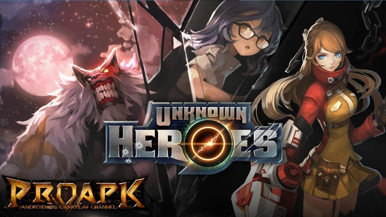 Unknown Heroes Gameplay Android / iOS (by NEXON Company)