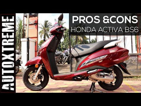 Honda Activa BS6 version :- Pros and Cons of Activa BS6 2019 version