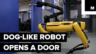 Boston Dynamics Robot Opens Doors