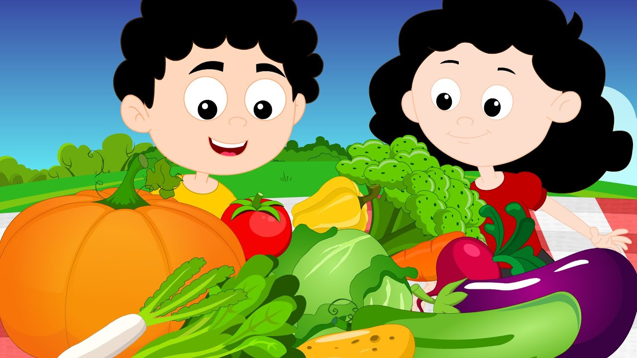 Vegetables song | Vegetable Rhyme | Learn Vegetable Name ...