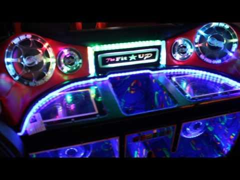 มิราจเขียวน้อย the fit-up caraudio khonkaen.โชว์เครื่องเสียงติดรถยนตร์ V.2 #
