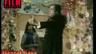 Masood Rana - live on stage in film Dostana (1982)