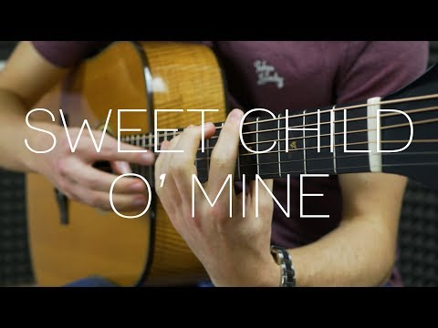 Guns N' Roses - Sweet Child O' Mine - Fingerstyle Guitar Cover