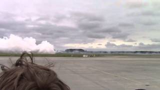 Smoke -N- Thunder Jet Truck and Lucas Oil Pitts Race Warm Up