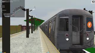 openBVE New York F train Express - R68 cars