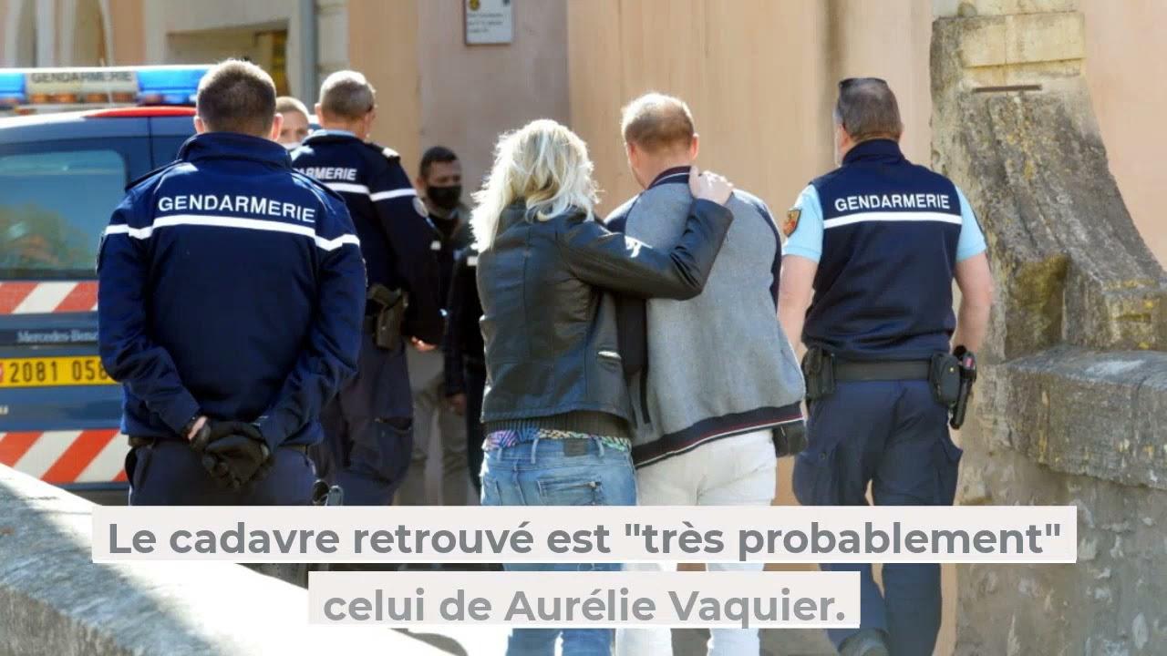 Disparition d'Aurélie Vaquier : un corps découvert sous une dalle - YouTube