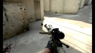 CS GO | EPIC 520 AWP NOSCOPE KILL!