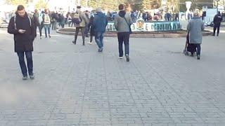 #ЗаНавального Митинг В Новосибирске в первомайском сквере 7 10 17 за освобождение Навального