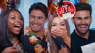 WHO IS THE BEST COUPLE?! Samira & Frankie go 1 on 1 with Adam and Zara in Mr. & Mrs!