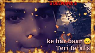 Mera Dil Ro Raha Hai Kis Soch Mein Kho rahahai WhatsApp status