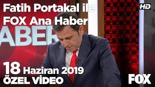 Ekrem İmamoğlu: İsrafbol Belediyesi! 18 Haziran 2019 Fatih Portakal ile FOX Ana Haber