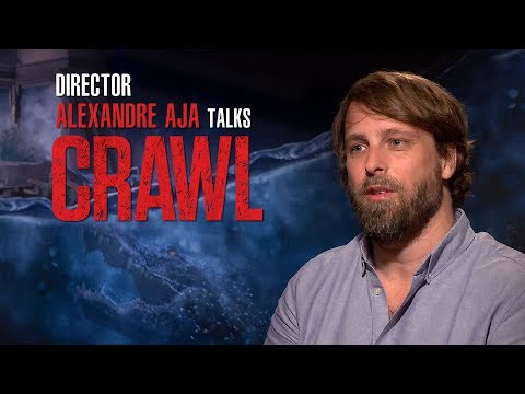 CRAWL | Director Alexandre Aja Interview
