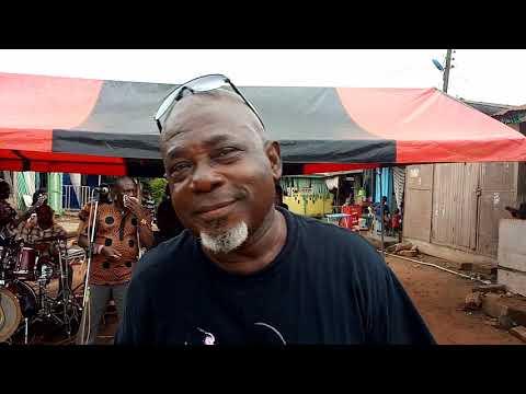 Mr Kofi Asante Performed Mr Yamoah's Song With Adehye3 Int Band @ Nana Yaw One Week