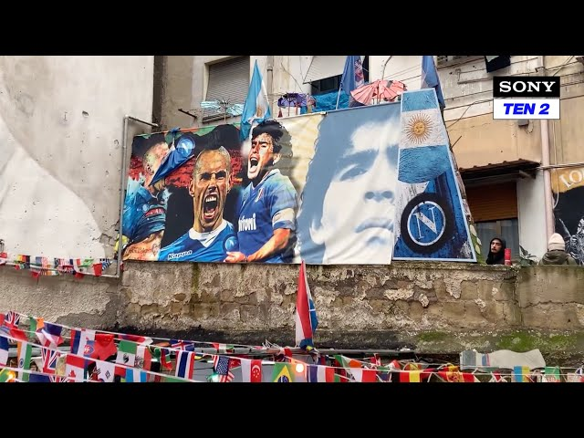 Adriano on Sony Sports India (Maradona Tribute)
