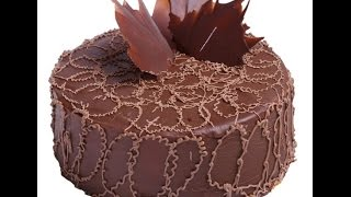 Украшение Тортов как сделать цветы из крема Украшение Тортов