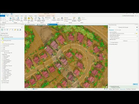 Lidar Feature Extraction Demo