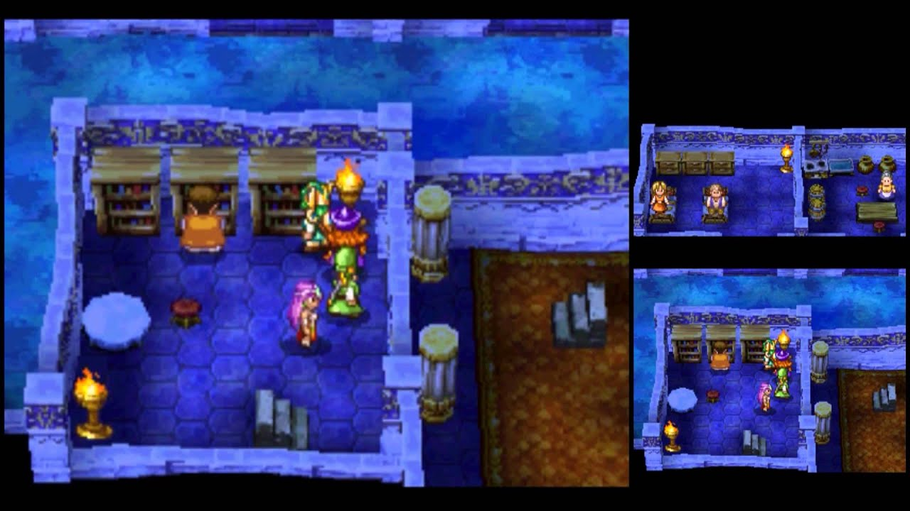 Dragon Quest 6 Ds Fliegender Teppich Dragon Quest Iv Ds Playthrough 052 Canalot Making The
