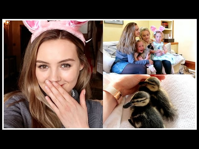 FAMILY TIME AND THE CUTEST DUCKLINGS   Niomi Smart VLOG