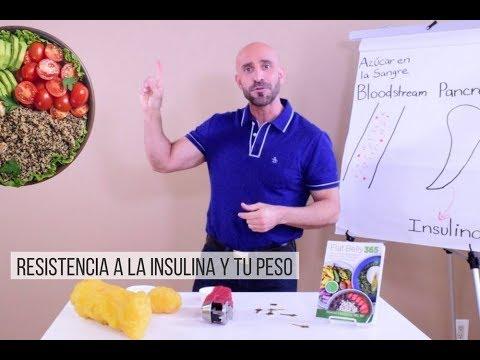 como bajar de peso cuando tienes resistencia a la insulina