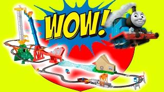 Томас и Его Друзья Супер Трек Паровозик Томас Видео Для детей Чупа Чупс Thomas & Friend Track