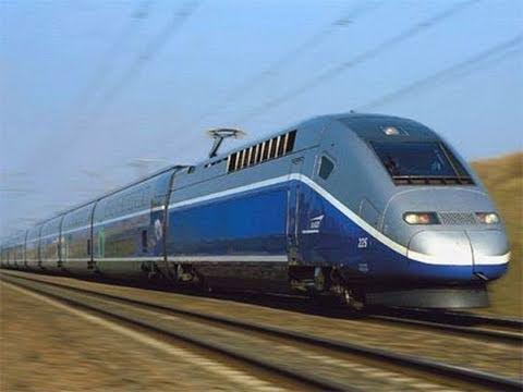 Eurostar TGV to Avignon