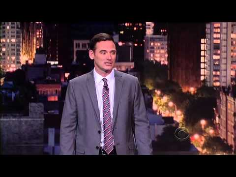 Comedian Andy Hendrickson on Late Show