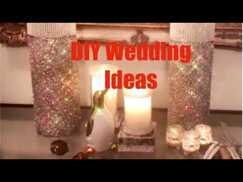 DIY Wedding Decorations Ideas: DIY Wedding Centerpieces 3 Quick Easy Inexpensive Wedding Ideas 2019