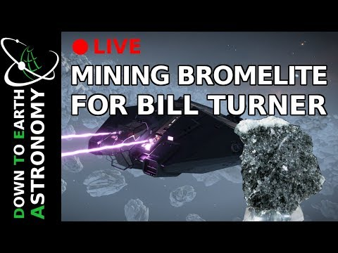 MINING BROMELITE FOR BILL TURNER WITH DOWN TO EARTH ASTRONOMY