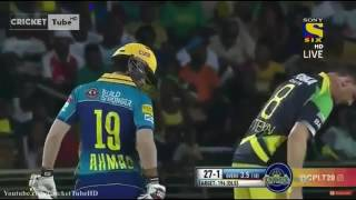 Ahmad Shehzad in CPL 2016 Match 20   Barbados Tridents v Jamaica Tallawahs Highlights   HD