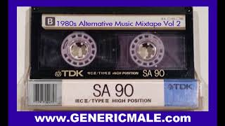 80s New Wave / Alternative Songs Mixtape Volume 2