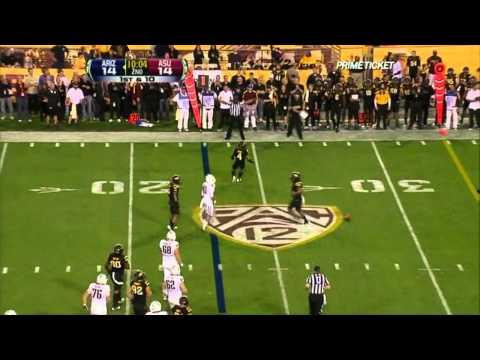Nick Foles vs Arizona State 2011
