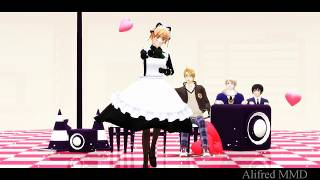 MMD APH - I Love You, My One and Only [Maid!England]