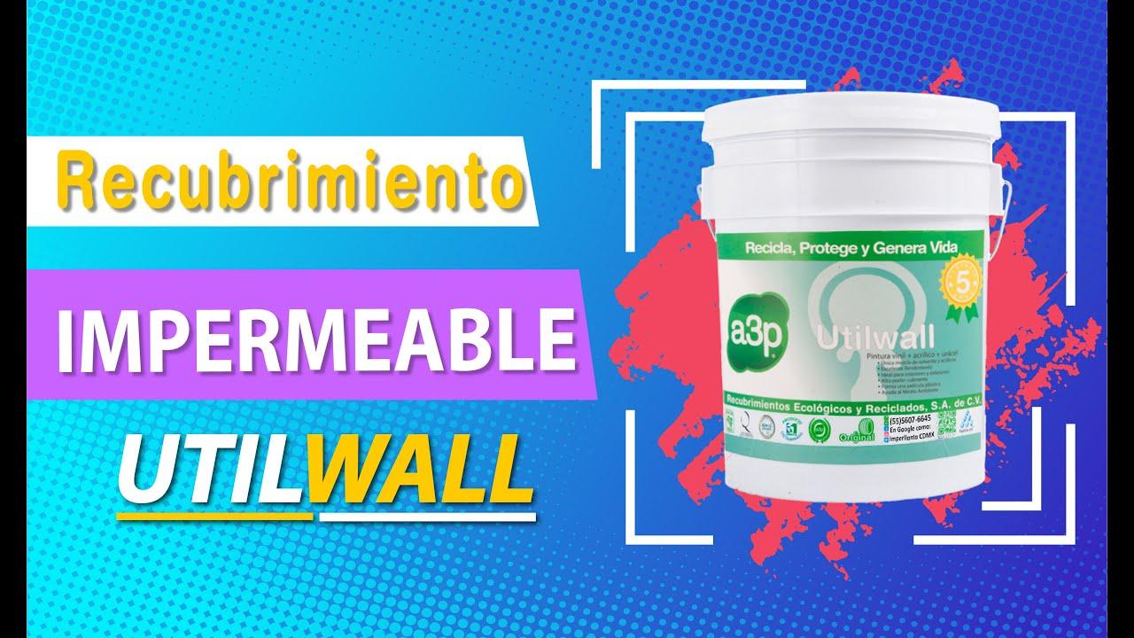 a3p Utilwall Pintura Impermeable Ecológica