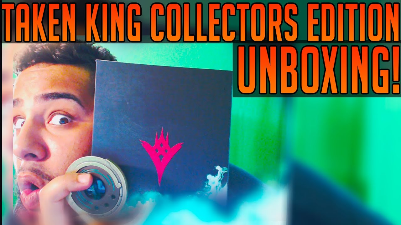 The taken king collectors edition unboxing w strange coin youtube