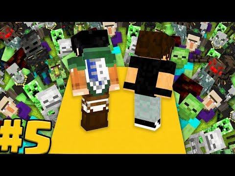 EREN e TEAR vs ESERCITO DI MOB PIÙ FORTE - Minecraft ITA - DIVERSITY 3 #5