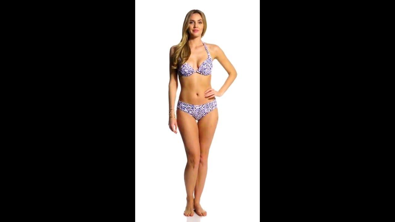 88a9ea3b1be Michael Kors Swimwear Chiltington Underwire Halter Bikini Top ...