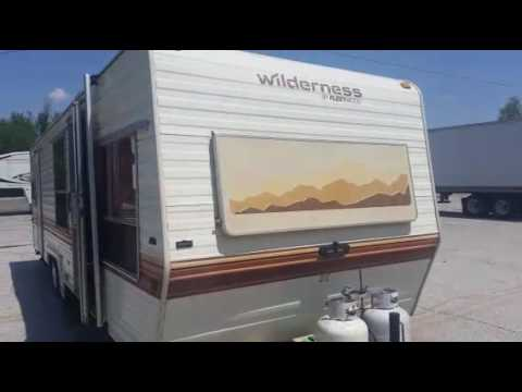 1986 Fleetwood Wilderness 300cl For