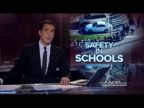 ABC World News Tonight 02/14/18 - US schools teach students safety plans for shootings.