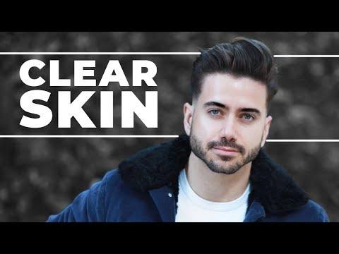 THE SECRET TO CLEAR SKIN   Men's Skincare Routine 2018   ALEX COSTA