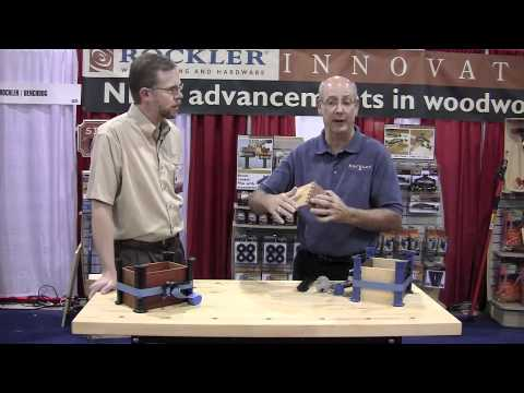 Rockler Box Joint Clamping Caul - International Woodworking Fair 2010