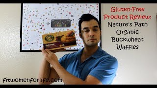 Gluten-free Product Review: Nature's Path Buckwheat Blueberry Waffles