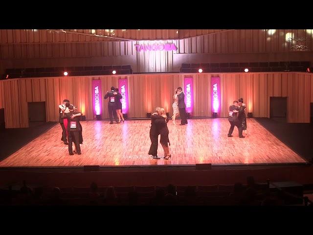 Mundial de tango Pista 2021 Ronda 15, baile de tango 3